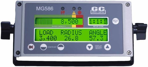Greer MG586 Terex Display Console A450604
