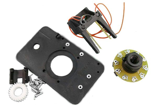 WIKA Mobile Control - PAT Hirschmann Angle 2 Pole Slip Ring Assembly