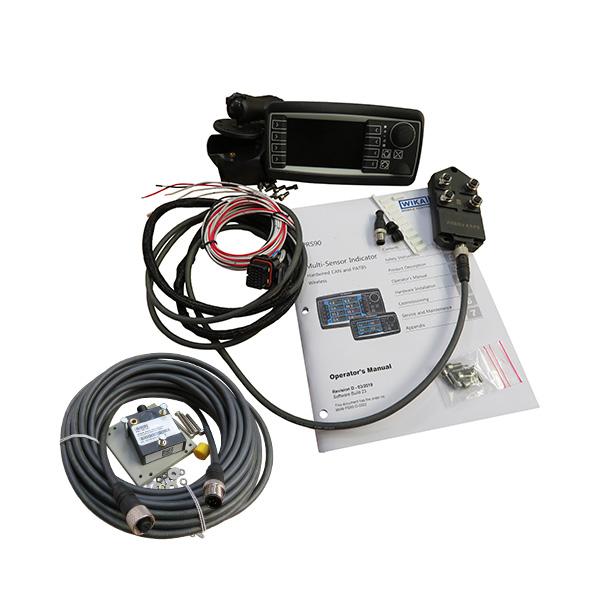 WIKA Mobile Control - PAT Hirschmann PRS90 Hard Wired Boom Angle Indicator Kit