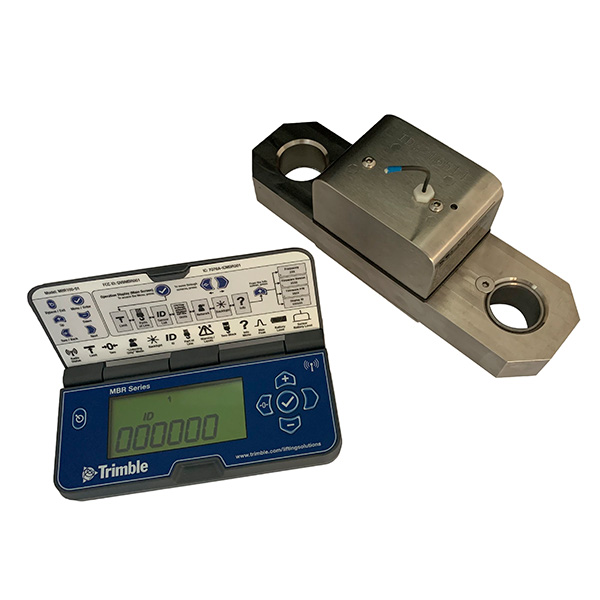 Trimble Portable MBR100 Hand Held Wireless Load Indicator-2